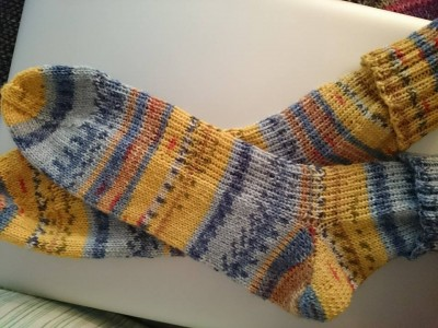 Socks - yarn by Opal Hundertwasser